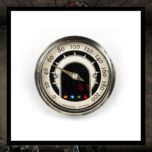 Motoscope Tiny Vintage 49 mm - Motogadget