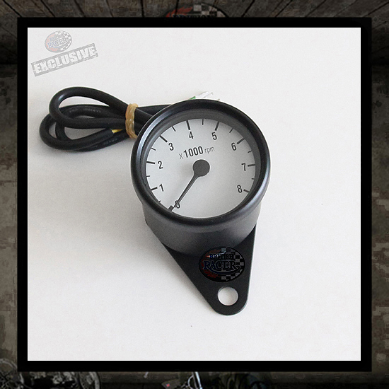 Mini tachometer black/white