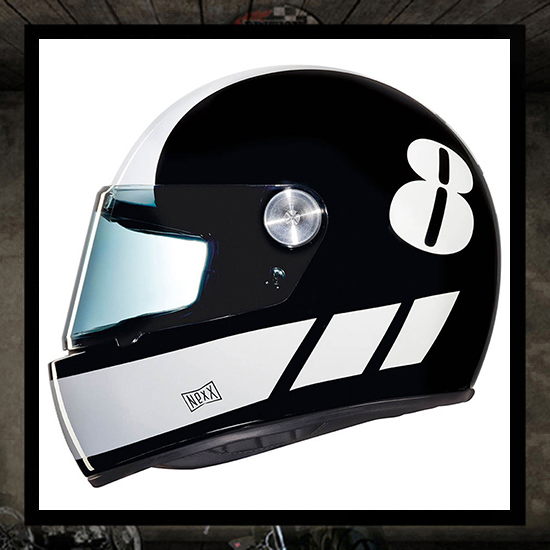 NEXX XG100R helmet - BILLY B black/white