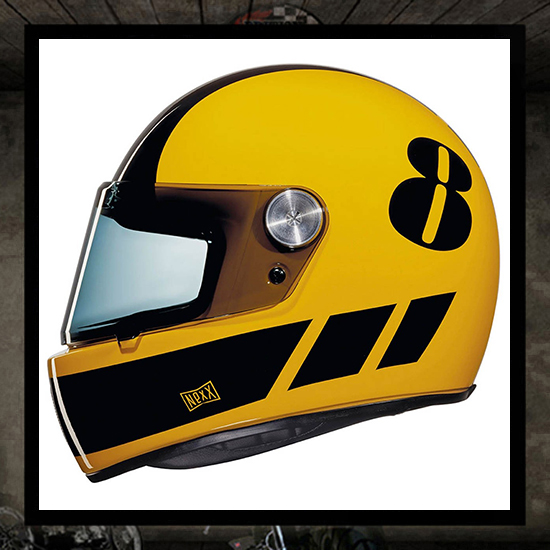 NEXX XG100R helmet - BILLY B yellow/black