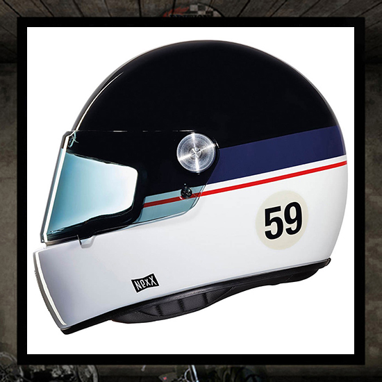 NEXX XG100R helmet - GRANDWIN black/blue/white