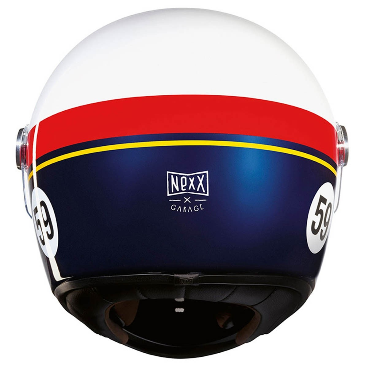 NEXX XG100R helmet - GRANDWIN white/red/blue