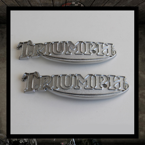 Tank Badges for Triumph T140/T160 •