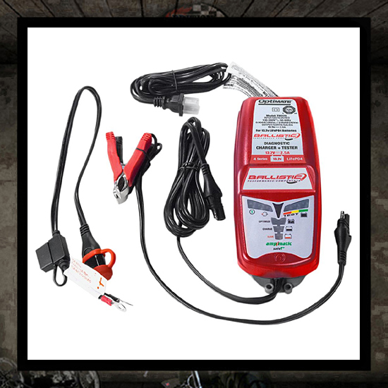 OptiMATE Ballistic Battery Charger and Optimiser