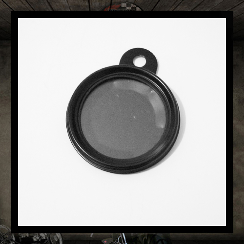 Halcyon black tax disc holder DELUXE •