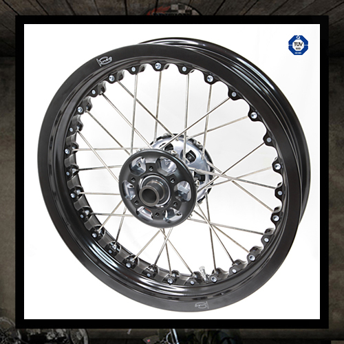 Kineo front spoke wheel Tubeless (air cooled)