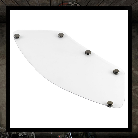 Gringo Blast Shields - Clear - Small (XS-M)