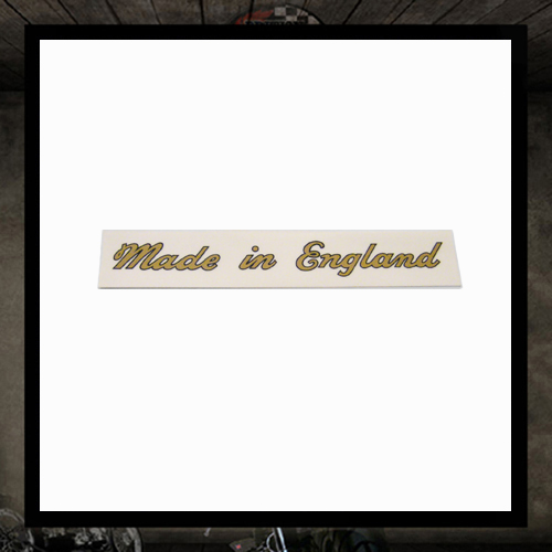 Sticker Made in England